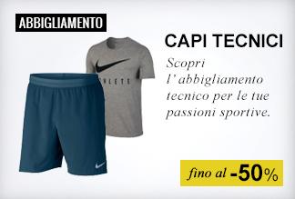 Maxi Saldi abbigliamento sportivo