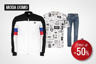 Anticipa i Black Friday Days Moda Uomo -40% e -50%