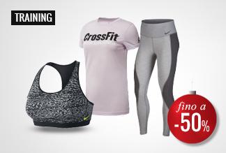 Anticipa i Black Friday Days Abbigliamento Training -40% e -50%