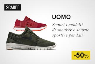 Scarpe sportive e Sneaker Uomo a Metà Prezzo