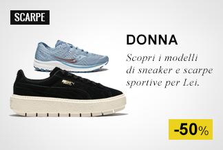 Scarpe sportive e Sneaker Donna a Metà Prezzo