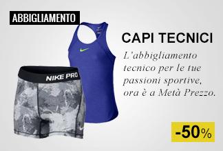 Speciale Abbigliamento Sportivo Metà Prezzo