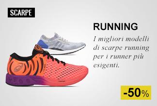 Speciale Scarpe running Metà Prezzo