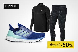 Running fino a -50%