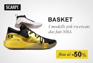 Scarpe basket fino a -50%