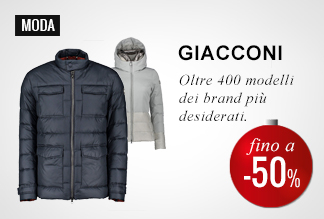 Anticipa il Black Friday: Giacconi -40% e -50%