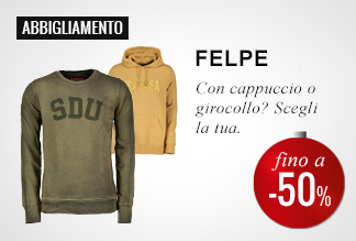 Anticipa il Black Friday: Felpe -40% e -50%