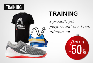 Anticipa il Black Friday: Training -40% e -50%