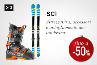 Anticipa il Black Friday: Sci -40% e -50%