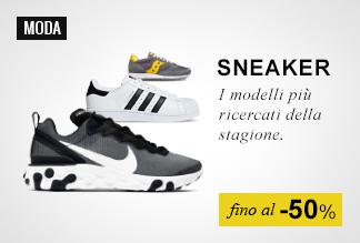 Sneaker fino -50%