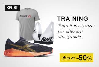 Training fino a -50%
