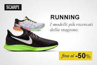 Scarpe Running fino a -50%
