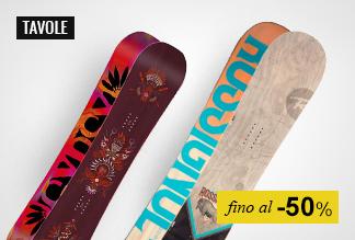 Snowboard Tavole a Metà Prezzo