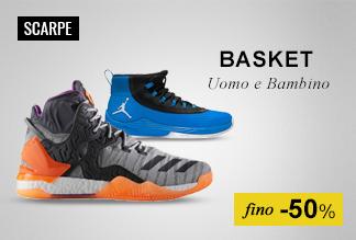 Maxi Saldi: Scarpe Basket