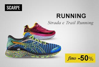 Maxi Saldi: Scarpe Running