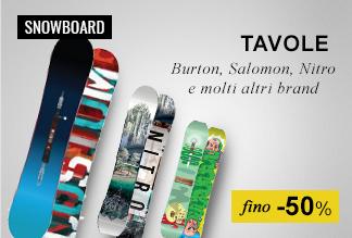Maxi Saldi: Tavole Snowboard