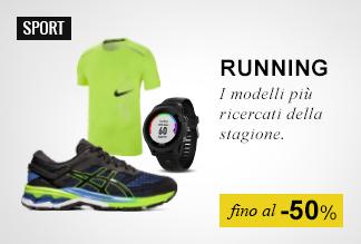 Running fino -50%