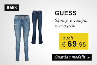 Jeans Guess a soli 69,95 euro