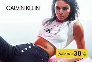 Calvin Klein fino a -30%
