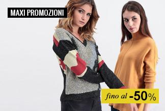 Maxi promozioni Moda Donna
