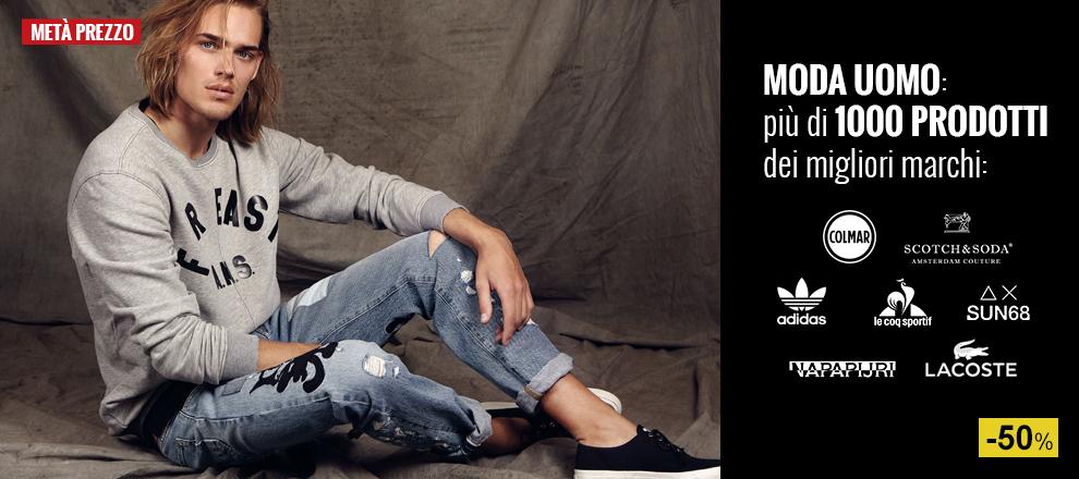 Abbigliamento Moda Uomo a Metà Prezzo