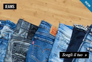 Collezione Abbigliamento Uomo Jeans