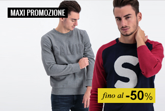 Maxi Promozione Abbigliamento Uomo