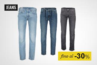 Jeans uomo fino a -30%