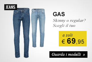 Jeans Gas a soli € 69,95