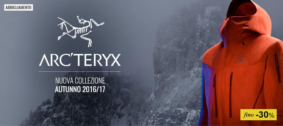 Abbigliamento Outdoor Arc'teryx fino -30%