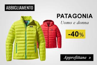 Abbigliamento Patagonia in promozione