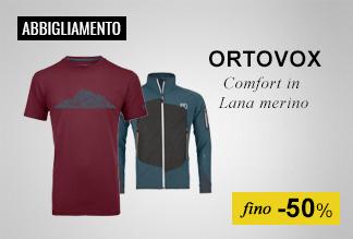 Abbigliamento Ortovox fino -50%