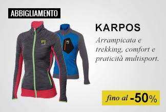 Abbigliamento Karpos fino a -50%