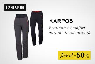 Pantaloni Karpos fino al -50%