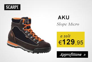 Scarpe Aku Slope Mirco a soli 129,95 euro