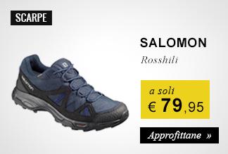Scarpa Salomon Rosshili a soli 79,95 euro