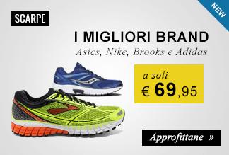 Scarpe running a soli €69,95