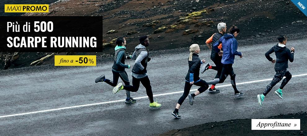 Maxi Promozioni: Più di 500 scarpe running fino a -50%
