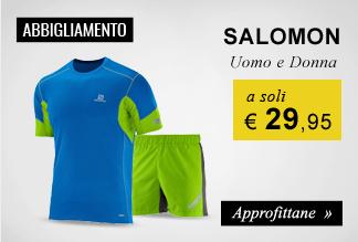 Abbigliamento Salomon a soli €29,95