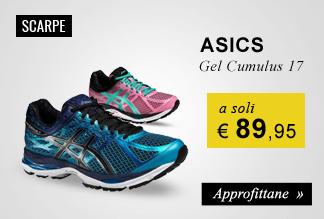 Asics Gel Cumulus 17 a soli €89,95