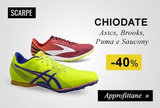 Scarpe running chiodate -40%