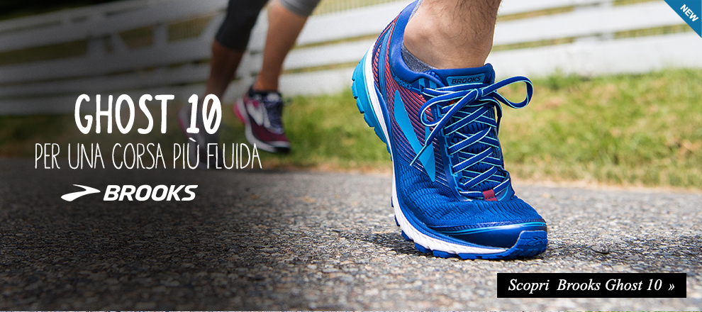 Nuova Brooks Ghost 10