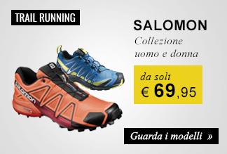 Scarpe Salomon da soli € 69,95