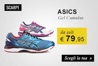 Scarpe running Asics Gel Cumulus da soli € 79,95