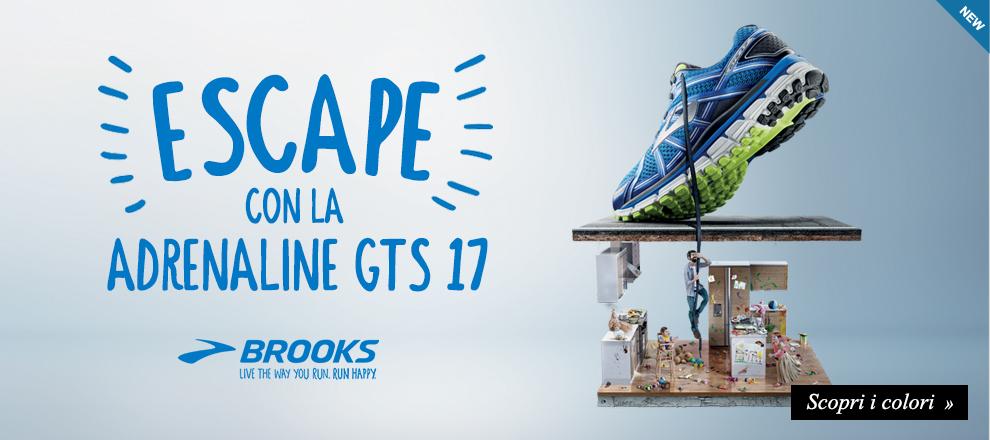 Scarpe Running: Nuova Brooks Adrenaline GTS 17