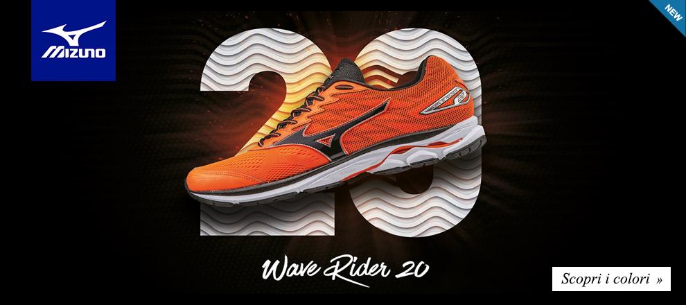 Nuova collezione Mizuno Wave Rider 20