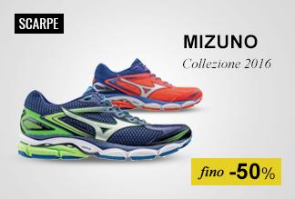 Scarpe running Mizuno fino al -50%