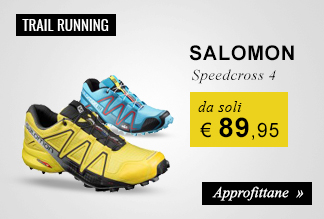 Scarpe Salomon Speedcross 4 da soli € 89,95