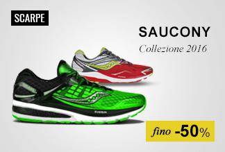 Scarpe running Saucony fino -50%