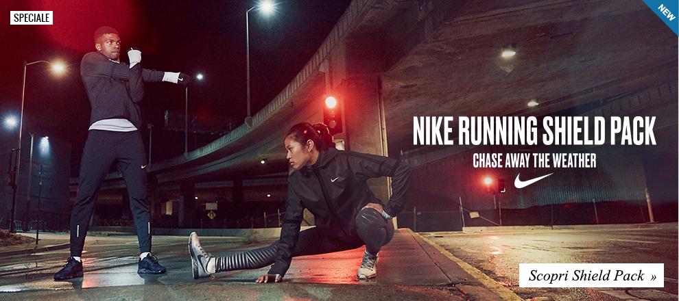 Nuova Collezione Nike Shield Pack